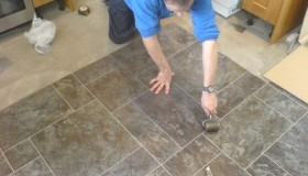 Staff Fitting Flooring