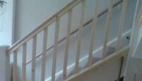 Exceptionally Well Finished Staircase