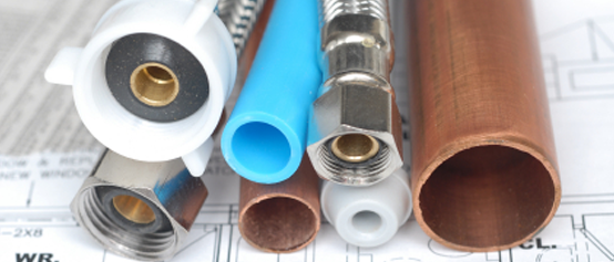 Plumbing in Canford Heath Materials