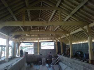 Roof building Dorset